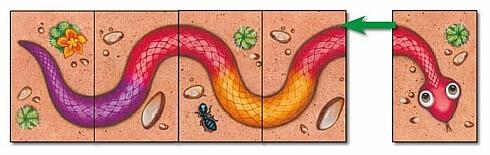Zbieranie węża - Serpentyna Kolorowe węże