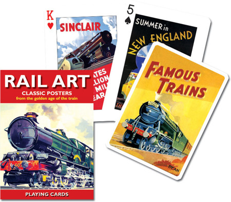 Karty 1511 Rail Art
