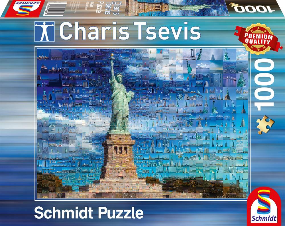 1a9119a8b021b7 CHARIS TSEVIS Nowy Jork; PQ Puzzle 1000 el. CHARIS TSEVIS Nowy Jork ...