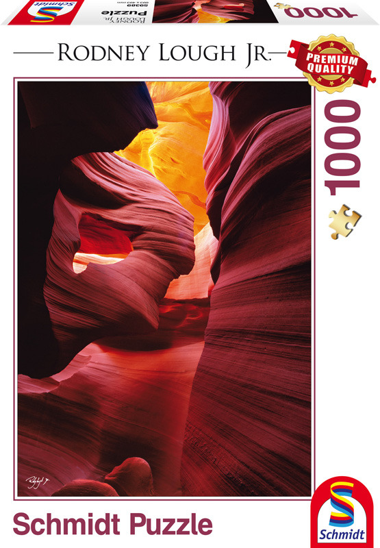 b28073d250b2f8 ... PQ Puzzle 1000 el. RODNEY LOUGH JR. Rezerwat Navajo (czerwony  piaskowiec) ...