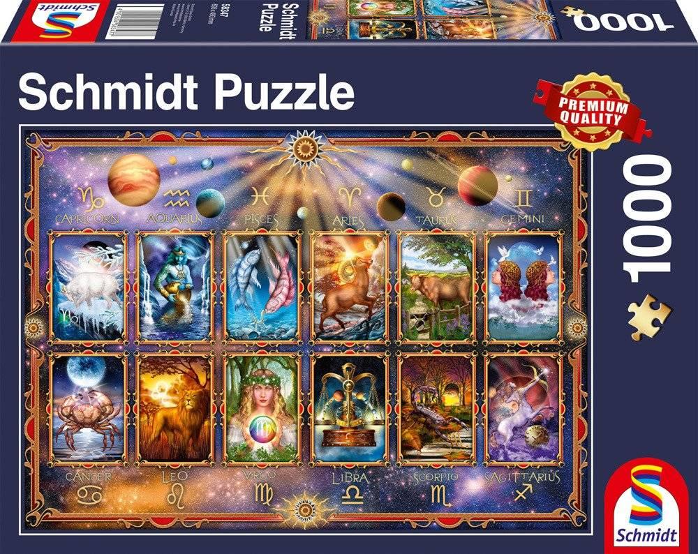 3e2c3aafe00bf6 PQ Puzzle 1000 el. Znaki zodiaku | DYSTRYBUCJA \ Schmidt Spiele ...