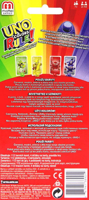 Uno Kolory Rzadza Sprzedaz Hurtowa Mattel G3 Poland