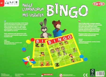 Junior Bingo - Miś Uszatek