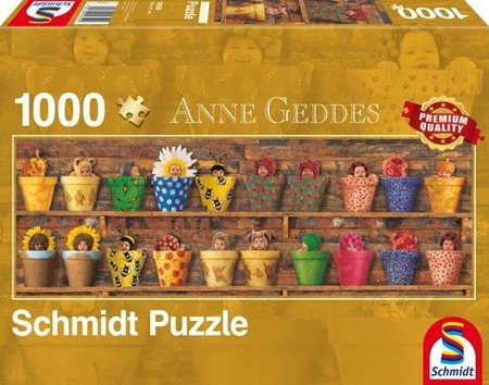 PQ Puzzle 1000 el. ANNE GEDDES Sezon wiosenny (panorama)