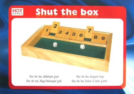 Shut the Box 34x24 cm (HG)