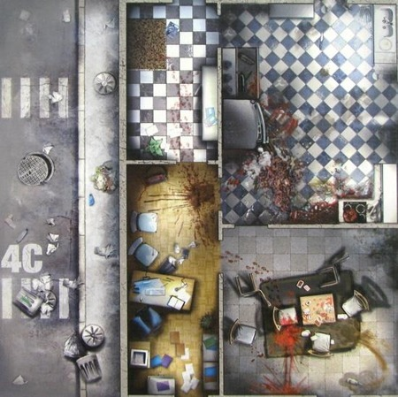 Zombicide - 9 Double Sided Game Tiles